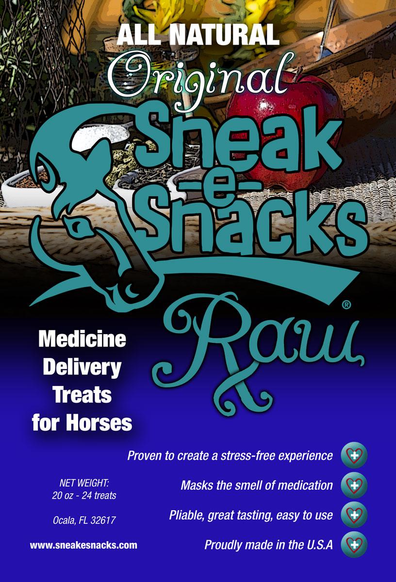 Original RAW Sneak-e-Snacks
