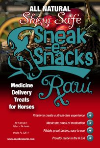 Sneak-e-Snacks RAW Show Safe