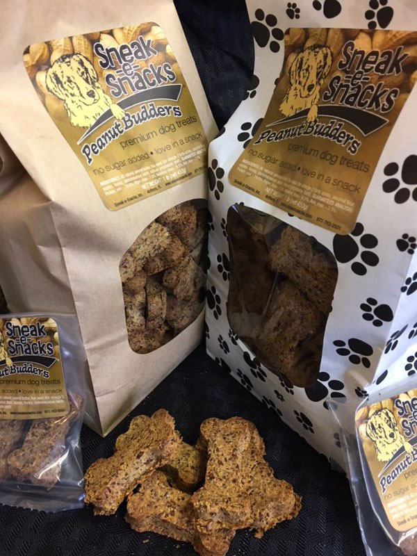 Sneak-e-Snacks Peanut Budders Dog Treats